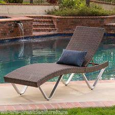 Patio Chaise Lounge Outdoor Chaise Lounges Lounges Ebay