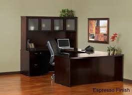 U Shape Desk Mayline Meu1 Mira U Shaped Executive Home Office Desk