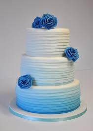 turquoise ombre wedding cake cakephoria cakephoria