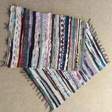 Handmade Rag Rugs For Sale Shop Handmade Rag Rugs On Wanelo