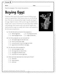 comprehension skills gr 6 40 short passages for close reading