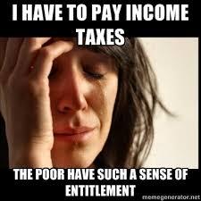 Selfish Meme - the selfish meme libertarian crybabies and their beige sense of