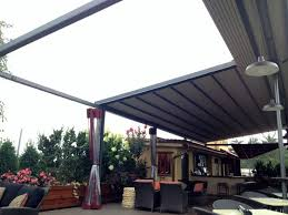 Retractable Awning Pergola Gennius Retractable Pergola Awning For Restaurant Penthouse Dining
