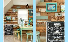 home workspace a fun and functional diy pallet wall for your home workspace