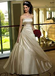 gold wedding dress a gold wedding gown