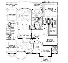six bedroom floor plans plan w32156aa mediterranean manor e architectural design