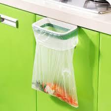 porte sac poubelle cuisine support sac poubelle portable accroché suspendue ordures déchet