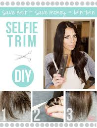 do it yourself hair cuts for women fix split ends with easy hair mask treatment diy trim