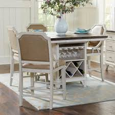 avalon furniture mystic cay 5 piece kitchen island table set