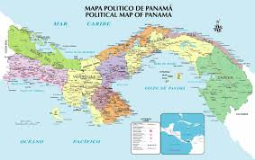 Panama World Map by Peace Corps Panama U2013 A Community Environment Conservationist Cec