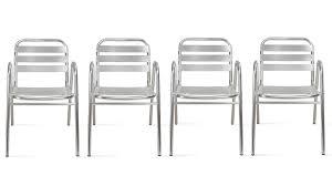 chaise jardin aluminium chaise de jardin aluminium fauteuil jardin