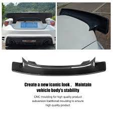 subaru spoiler auto car carbon fiber rear wing lip spoiler for subaru brz for