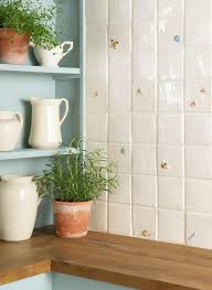 butterfly on off white the winchester tile company