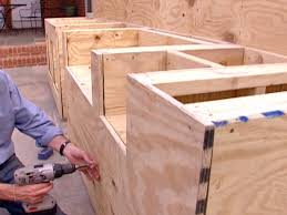 Outdoor Kitchen Cabinets Diy How To Build Outdoor Cabinets
