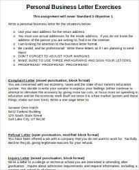 business letter sample word sample business letter format 7
