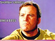 William Shatner Meme - scotty knows yee cannae beat tech support 101 s golden rule star