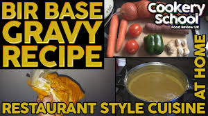 Style At Home Bir Style Base Gravy Restaurant Style At Home Youtube