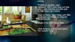 area rugs made in usa mohawk home strata aqua fusion abstract printed area rug 6 x 9