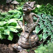 animals bronze garden statues lawn ornaments ebay