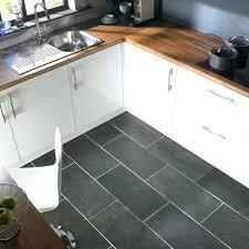 Ideas For Country Kitchens Tiles Dark Tile Floor White Kitchen Dining Capricious Kitchen