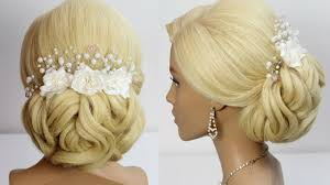hair tutorials for medium hair wedding hairstyle for long medium hair tutorial bridal prom updo