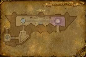 black temple map black temple raid instance map crit craft