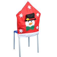 Chair Back Cover Snowman Christmas Chair Back Covers Canada Best Selling Snowman