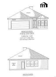 1645 0409 square feet narrow lot house plan