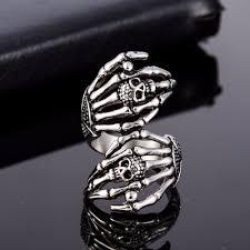 skull finger rings images Buy dawapara stainless steel skull rings for jpg