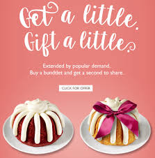 nothing bundt cakes bundtini nutrition information nutrition and
