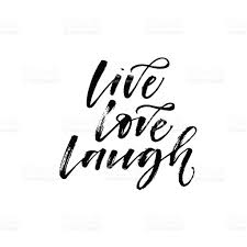 live love laugh live love laugh phrase stock vector art more images of abstract