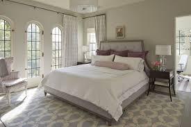 Owl Drapes Lavender Bedroom Transitional Bedroom Benjamin Moore Gray