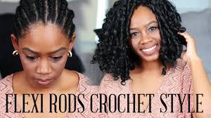 how to salvage flexi rod hairstyles how to flexi rod crochet braid w kanekalon hair beginner