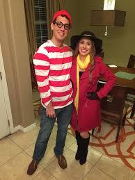 Wheres Waldo Halloween Costume Couples Costume Idea U0027s Waldo Carmen Sandiego