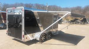 Cargo Trailer Awning R And R All Aluminum 7 X 14 All Aluminum Cargo Trailer