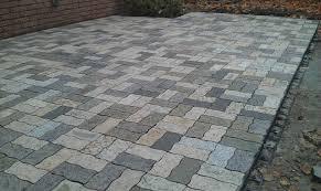 Granite Patio Pavers Wavy Rectangle Granite Pavers Traditional Patio Detroit By