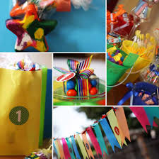 rainbow party with colorful candy bar be a smarty throw this