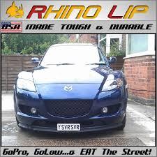 mazda 929 luce sentia roadster coupe rx8 front rubber chin lip