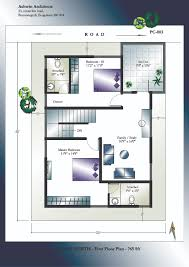 x bedroom house plans for east facing plot vastu including