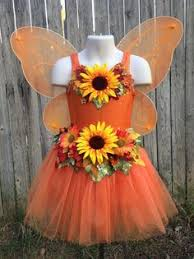 Flower Fairy Halloween Costume Girls Fairy Costume Autumn Rose Fairy Halloween Costume