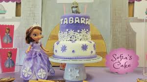 sofia the cake topper princess sofia the birthday theme party fondant cake