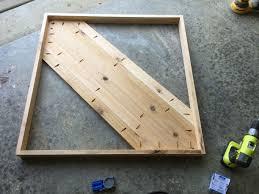 Kreg Jig Table Top I Made A Table Top For My Fire Pit Cedar Wood And Kreg Jig Not