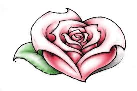 tattoo of a rose heart of a rose by nittygritty71 on deviantart