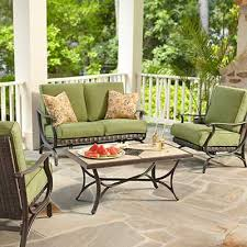 Outdoor Cushions Outdoor Furniture The Home Depot - Porch furniture