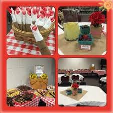 staff appreciation luncheon picnic theme my