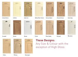 wonderful kitchen cabinet door designs and replacement kitchen