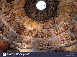 cupola s fiore frescoes on the inside of the dome brunelleschi s cupola duomo di