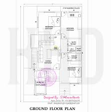 floor plan of house in india floor plan and elevation of modern indian house design kerala