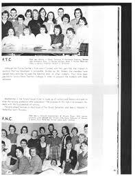 carthadian 1959 yearbook sally ploof hunter memorial library