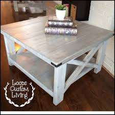 gray wood side table distressed coffee table with drawers tables toronto lift top diy